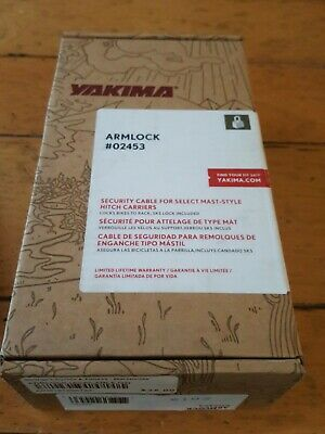 Details about  /Yakima Armlock Locking Cable for Hitch Rack #02453 Brand New