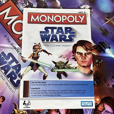 Details about  /MONOPOLY STAR WARS CLONE WARS CARDS SPARE INDIVIDUAL PIECES 2008 Please choose