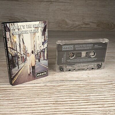 OASIS- (What's The Story) Morning Glory Cassette Tape 1995 Creation Records
