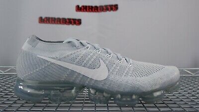 Nike Air Vapormax Flyknit Racer Pure Platinum Off White Wolf Grey 11 849558 004