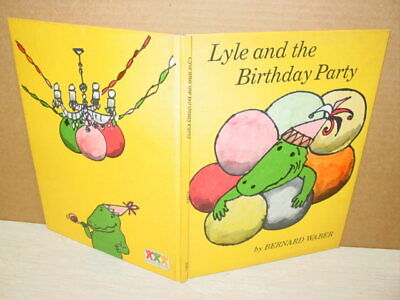 Vintage,Book,Lyle and the Birthday Party,Waber,Crocodil