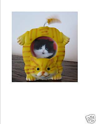 UNIQUE  Wagging Tail - Cat Photo Frame - NEW!
