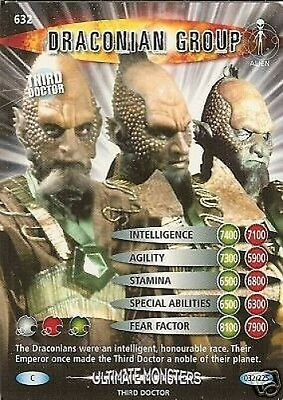 Dr Who Ultimate Monsters 632 Draconian Group