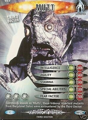Dr Who Ultimate Monsters 669 Mutt