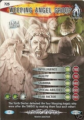Dr Who Ultimate Monsters 725 Weeping Angel Group