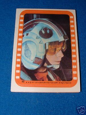 Topps Star Wars Trading Card Stickers Set 5 Pack Fresh