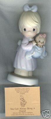 Precious Moments Figurine 527122 You Can Bring Friend