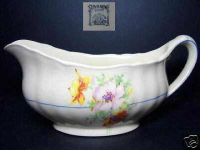BEAUTIFUL J & G MEAKIN SUNSHINE GRAVY BOAT 391413