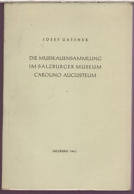 catalog of music in the Salzburger Museum