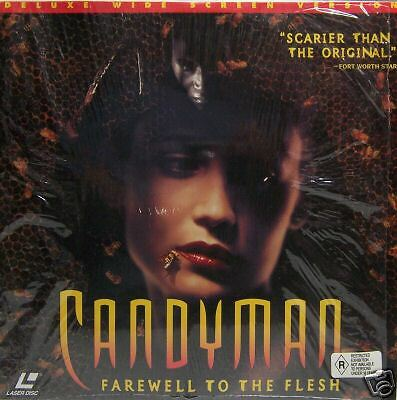 CANDYMAN Farewell To The Flesh Laserdisc Laser Disc LD