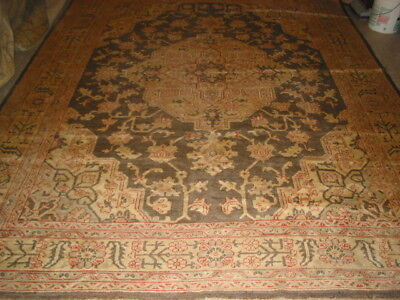 Antique Oushak Carpet West Anatolian Rug B-6967