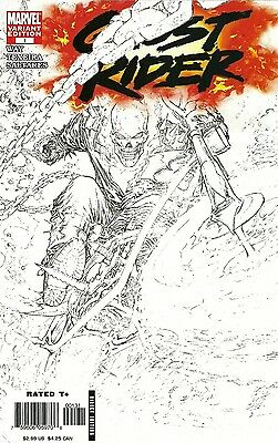 Ghost Rider #1 Marc Silvestri Sketch Variant Cover/2006 Marvel Comics