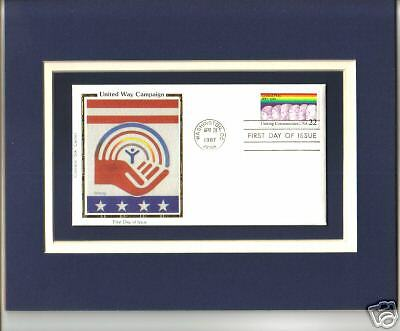 United Way Campaign, Collectible Postal Cover