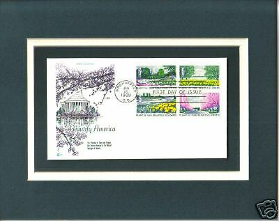 Trees Flowers Beautify America 1st Day Cover Trees Flowers Stamps
