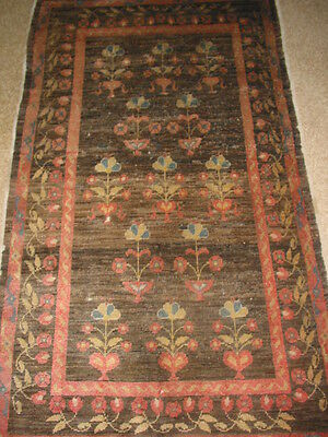 Antique Khotan Carpet East Turkestan Rug B-7953
