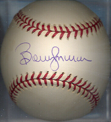 Bobby Murcer Chicago Cubs ONL Autographed Signed Baseball COA DECEASED