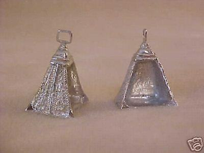 RDLC Traditional 1:9 Model Scale PERUVIAN PASO STIRRUPS in Pewter