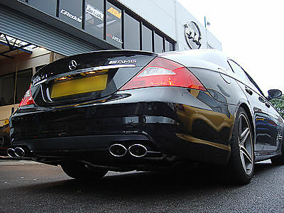 Custom Built Mercedes CLS 63 Exhaust Dual Exit Stainless Steel UK