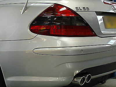 Custom Built Mercedes SL 55 Cat-Back Stainless Steel Exhaust Dual Exit System