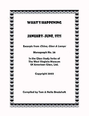 What's Happening-1921, pt. 1-Glass History, Illustrated