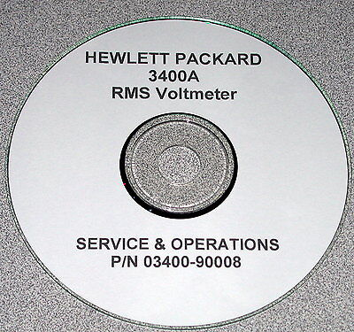 Hp  3400A   Operating &  Service Manual