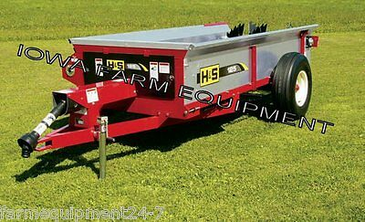 H&S 125 Bu PTO Driven Manure Spreader: ABSOLUTELY BEST BRAND & BUY!!!