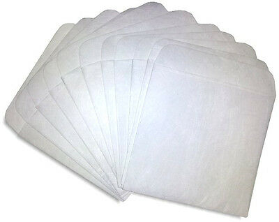 100-Pak =3-INCH= Mini TYVEK CD/DVD Sleeves!