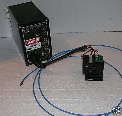 Fast Transitions 2412 Laser Q-Switch Driver & Q-Switch