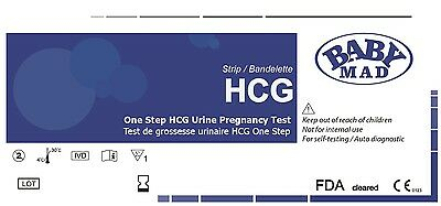 20 x PRO ULTRA EARLY PREGNANCY 10mIU TEST TESTS KIT STRIP STRIPS - PRIVATE