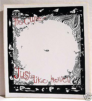 The Cure Just Like Heaven Rock Band Concert Sticker Old