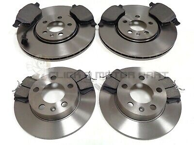 Audi A3 Mk1 1.8 20V Turbo 1996-2003 Front And Rear Brake Discs And Pads Set New