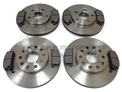 Toyota Mr2 Gt Turbo 1992-2000 Front & Rear Brake Discs And Pads Set New