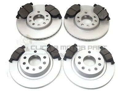 VAUXHALL VECTRA C 1.8 2.0 2.2 SRi SXi FRONT & REAR BRAKE DISCS AND PADS SET NEW