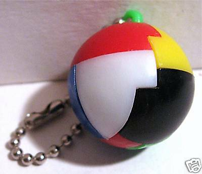 Vintage 1960 Gumball Machine Toy Ball Keychain Puzzle