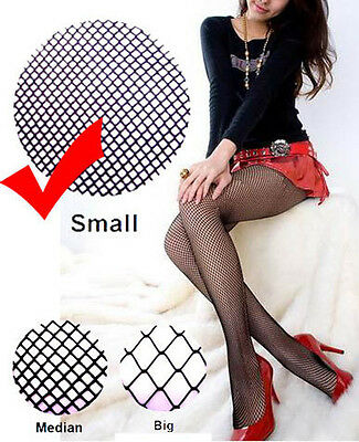 Sexy Black Fishnet pantyhose Stocking lingerie Small