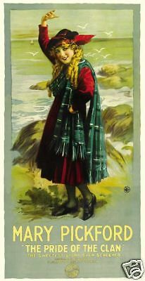The pride of the clan Mary Pickford movie poster print