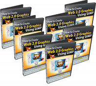 How To Create Web 2.0 Graphics Using GIMP Videos On CD