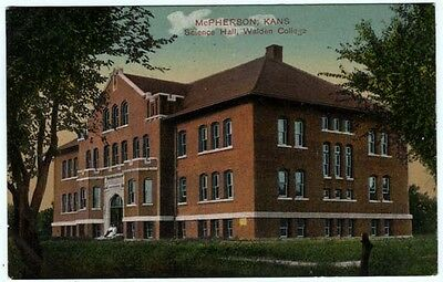 1911 Science Hall at Walden College McPherson KS Kansas