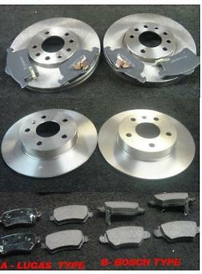Vauxhall Astra Mk4 G 1.8 2.0 2.2 Sri Front & Rear Brake Discs And Pads Set New