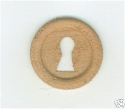 Furniture Repair Parts Oak Wood Key Hole Cover W30115