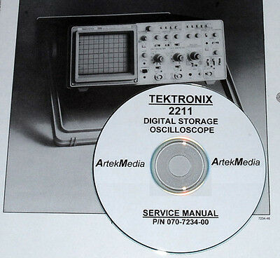 TEKTRONIX 2211  Oscilloscope Service Manual
