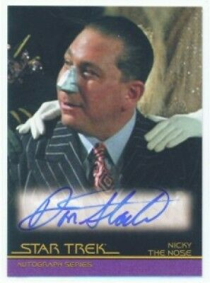 """Don Stark """"autograph A68"""" Star Trek Movies In Motion"""