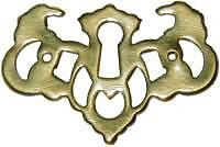 Chippendale Style Key Hole Cover B0197