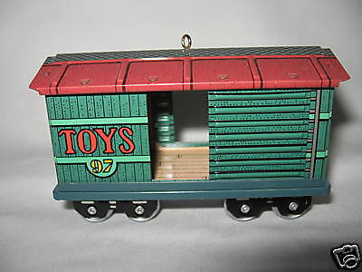 Hallmark Toy Car 4Th In Yuletide Central Series 1997