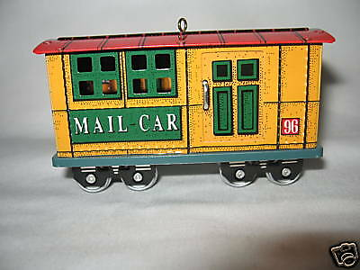 Hallmark Mail Car 3Rd In Yuletide Central Series 1996