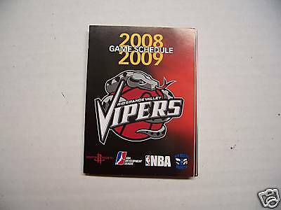 2008-09 D-League Rio Grande Valley Vipers Schedule