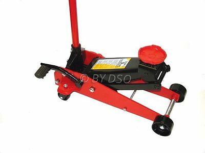 Professional 3 Ton Trolley Jack Fast and Lift Pedal NEW