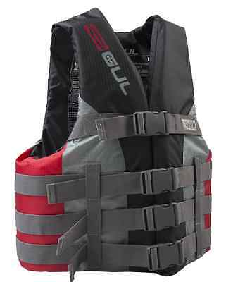 GUL 50n BUOYANCY AID IMPACT LIFE VEST JETSKI WATERSKI JACKET S Red