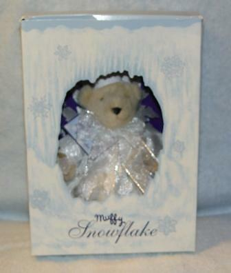 Muffy Snowflake Boxed Limited Edition For 1993 Store New