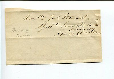 Charles James Stewart 2nd Bishop of Quebec Canada Clergy Signed Autograph